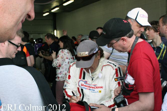 Brian Johnson, Silverstone Classic