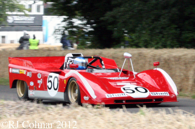 Ferrari 712, Goodwood Festival of Speed