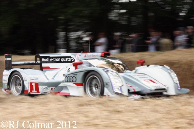 Audi R18 e-tron quattro, Goodwood Festival of Speed