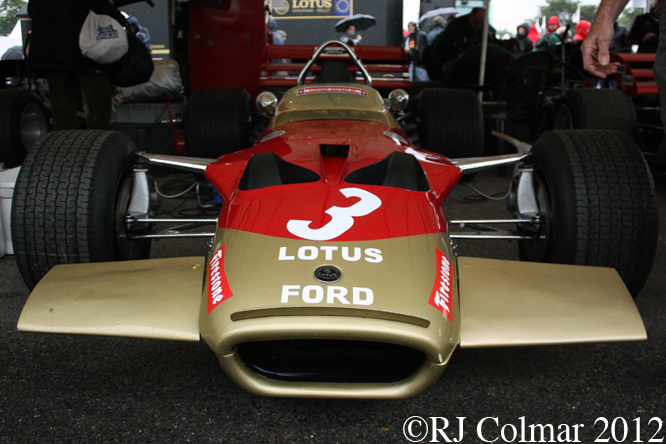 Lotus 49C, Goodwood Festival Of Speed