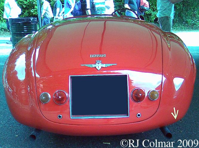 Ferrari 166MM, Goodwood, Festival Of Speed