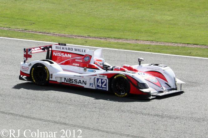 Zytek - Nissan Z11SN, Silverstone 6 Hours WEC