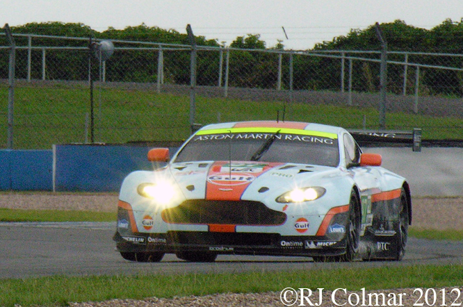 Aston Martin V8 Vantage, Donington Park Test Day