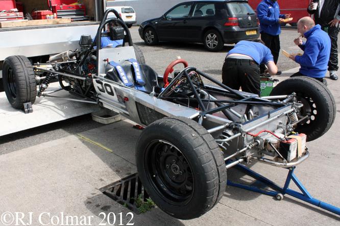 Crossle 25A, Donington Park Test Day