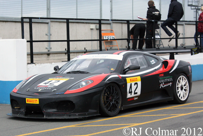 Ferrari F430, Donington Park Test Day