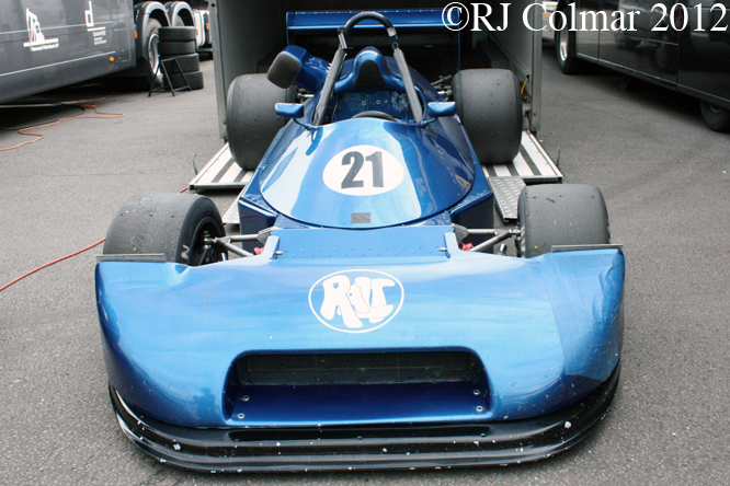 Ralt RT1 BMW, Donington Park Test Day