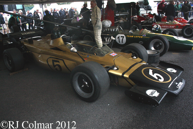 Lotus 56B, Goodwood Festival of Speed