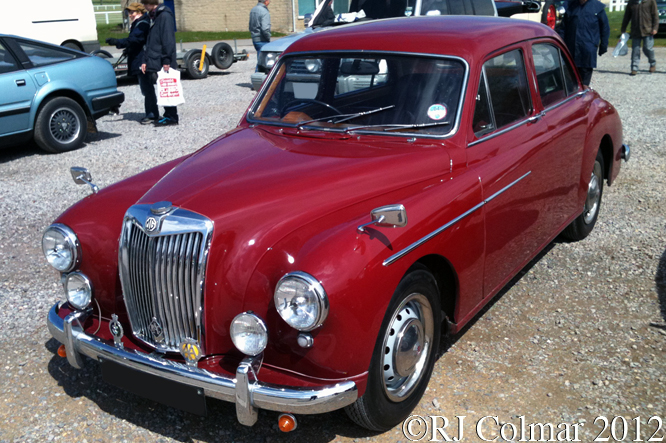 MG Magnette, Bristol Classic Car Show, Shepton Mallet