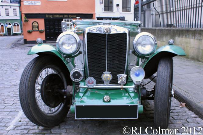 MG NA, Avenue Drivers Club, Queen Square, Bristol