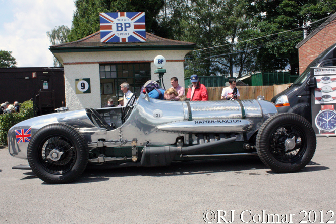 Napier Railton, Brooklands Double Twelve