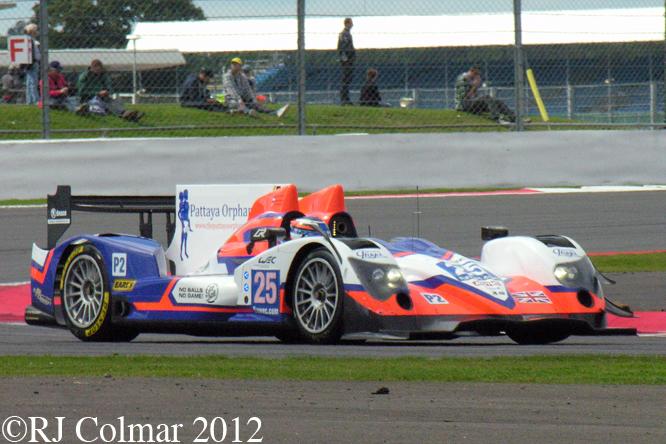Oreca Nissan 03, Silverstone 6 Hours WEC