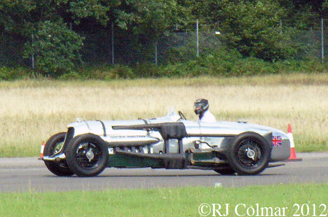 Napier Railton, Wings and Wheels, Dunsfold Aerodrome