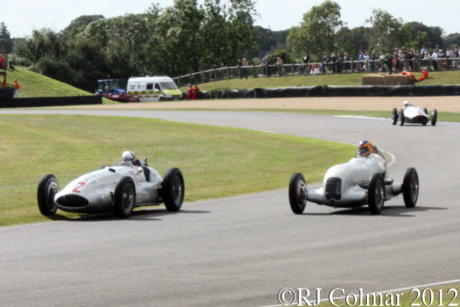 Mercedes Benz W154 and W25, Goodwood Revival
