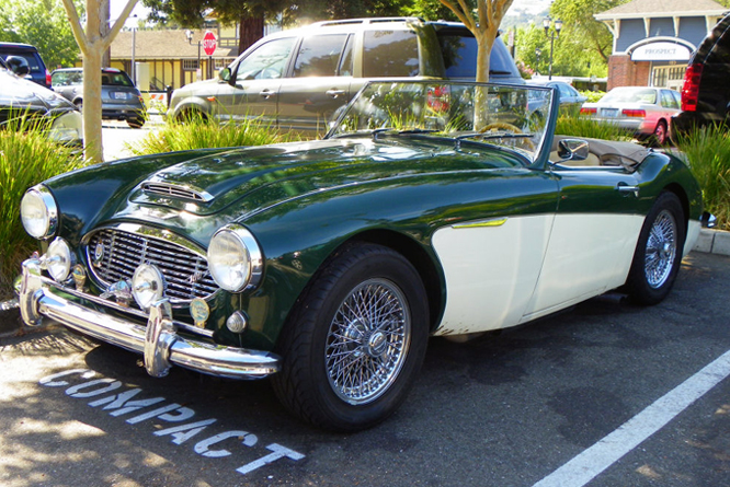 Austin Healey 100/6, Danville Concours d' Elegance