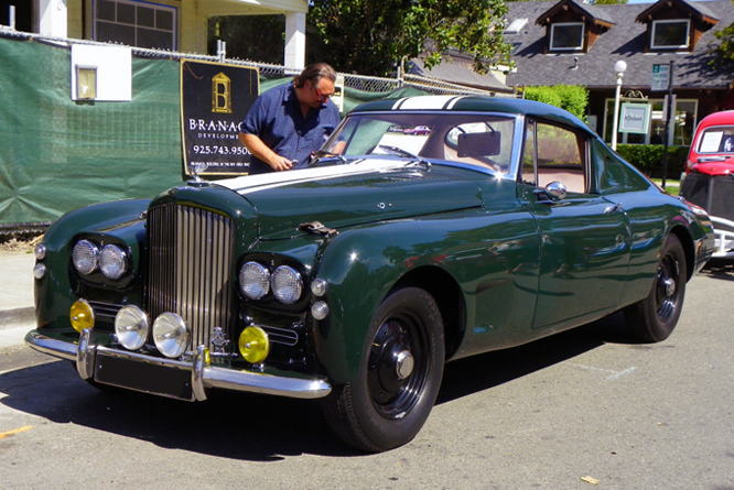 Bentley R-Type, Gooda Special, Danville Concours d' Elegance