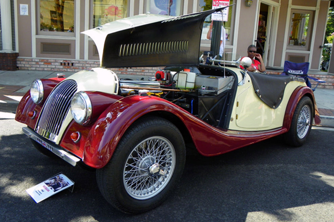 Morgan +4, Danville Concours d' Elegance
