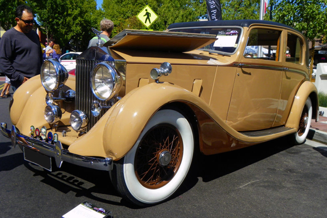 Rolls Royce 25/30 James Young, Danville Concours d' Elegance
