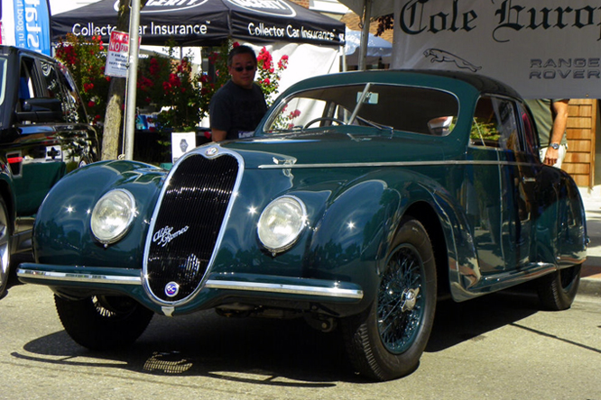 ALFA Romeo 6C 2500 Sport Touring Berlinetta, Danville Concours d' Elegance