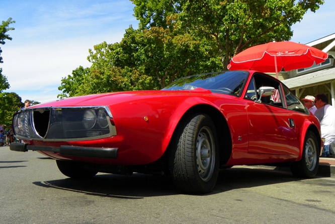 ALFA Romeo Junior Zagato, Danville Concours d' Elegance