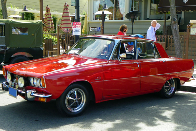 Rover 2000 TC, Danville Concours d&#039; Elegance