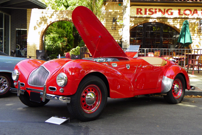 Allard K2, Danville Concours d&#039; Elegance