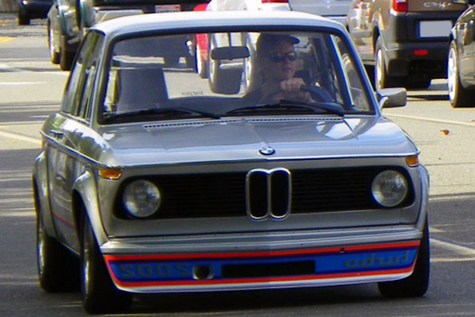BMW 2002 Turbo, Danville Concours d&#039; Elegance