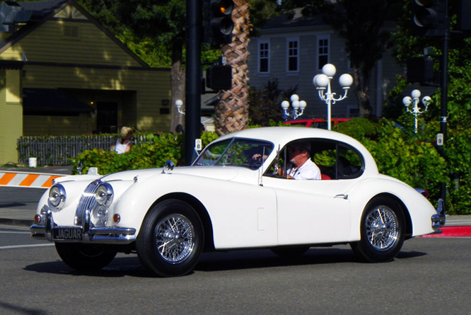 Jaguar XK 140 FHC, Danville Concours d&#039; Elegance