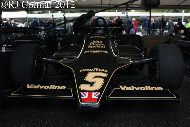 Lotus Ford 79, Goodwood, Festival of Speed