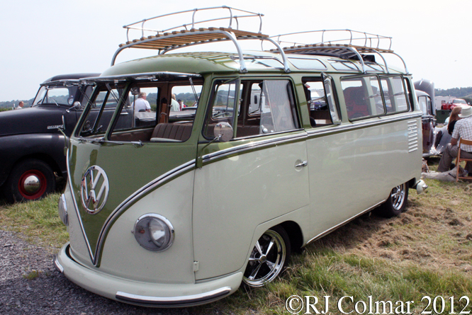 VW Type 2 Camper, Summer Classics, Easter Compton