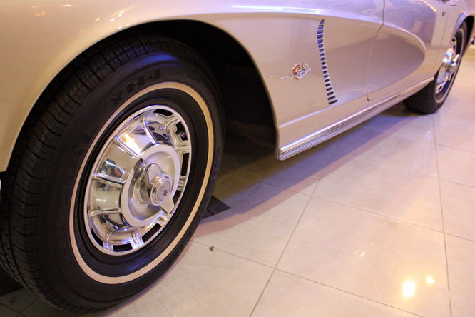 Chevrolet Corvette C1, Malta Classic Car Collection, Qwara