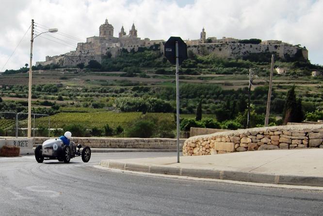Bugatti T35 R, Mdina Grand Prix, Malta