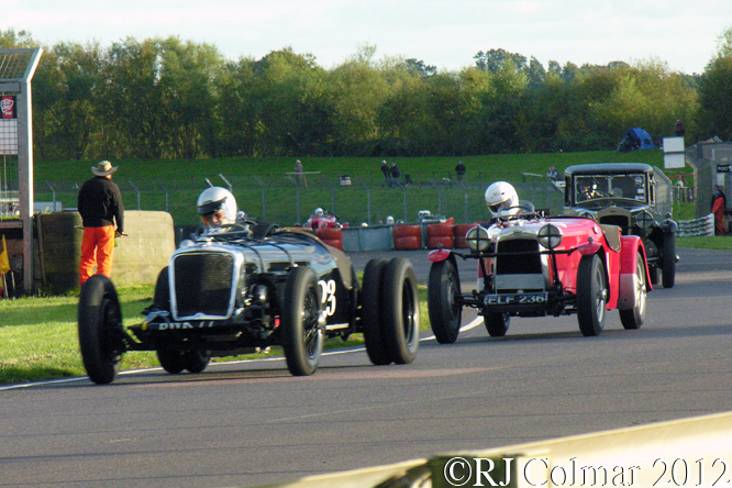 VSCC Pre War Sports Cars, Autumn Classic, Castle Combe