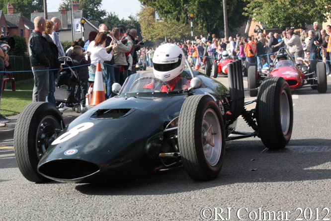 BRM P57, BRM Day, Bourne, Lincolnshire
