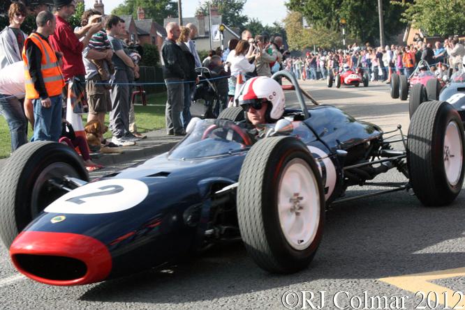 Lotus BRM 24, BRM Day, Bourne, Lincolnshire