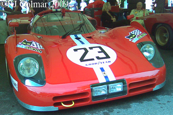 Ferrari 512 S, Goodwood Festival of Speed