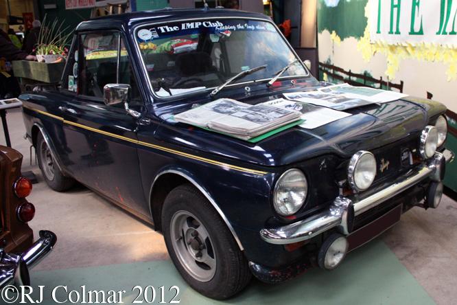 Hillman Imp Super Pick Up, Bristol Classic, Shepton Mallet