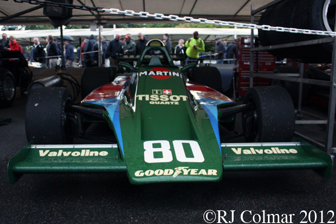 Lotus Ford 80, Goodwood Festival of Speed