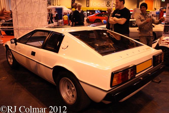Lotus Esprit S2, The Classic Motor Show, NEC, Birmingham