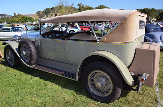 Huispano Suiza H6, Marin Sanoma Concours d' Elegance