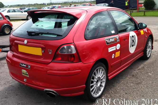 MG ZR, Dick Mayo Sprint, Castle Combe