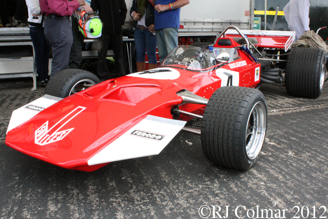 Surtees TS7, British Grand Prix, Silverstone