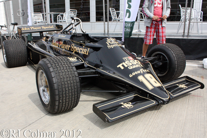 Lotus 87, Silverstone Classic