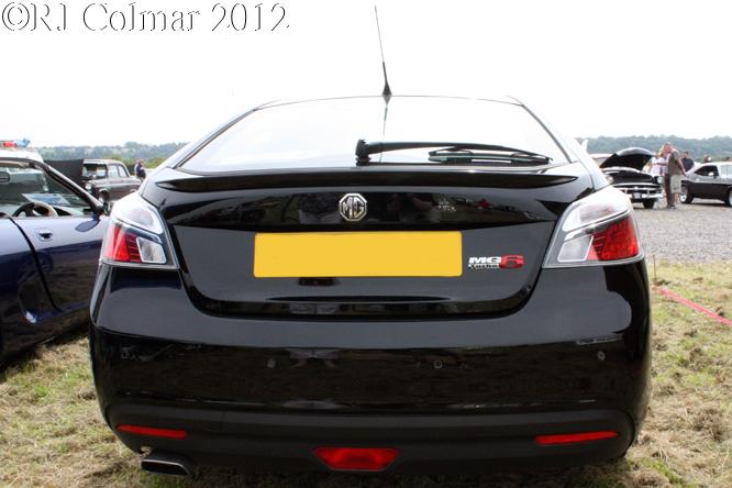 MG6 TSE GT Turbo, Summer Classics, Easter Compton