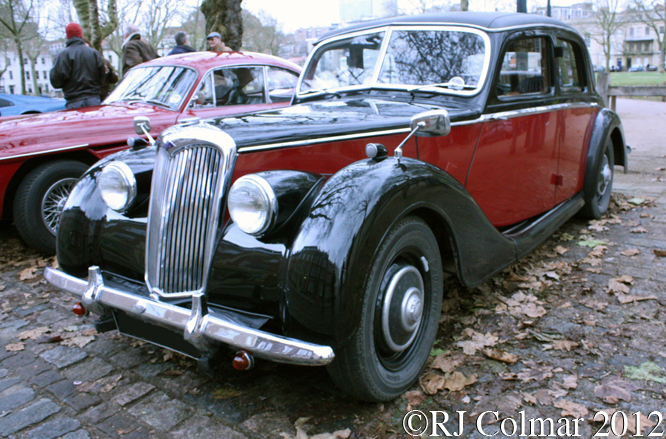 Riley RMA, Avenue Drivers Club, Queen Square, Bristol