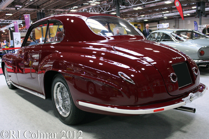 Ferrari 166  Inter Touring Coup, Classic Motor Show, NEC, Birmingham