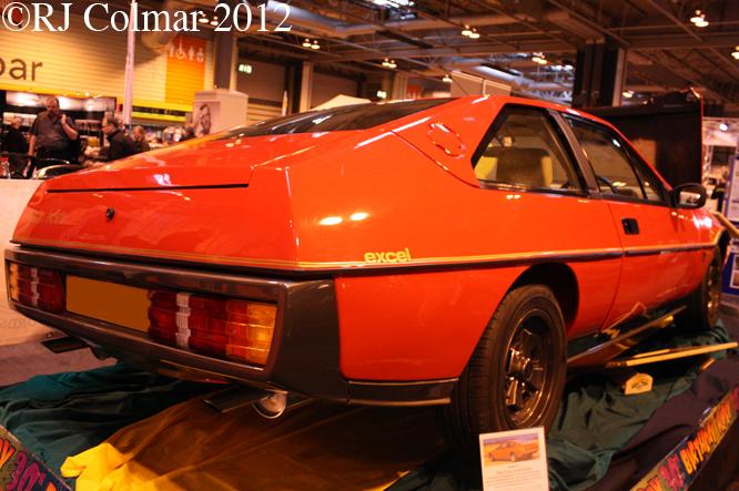 Lotus Eclat Excel, Classic Motor Show, NEC, Birmingham