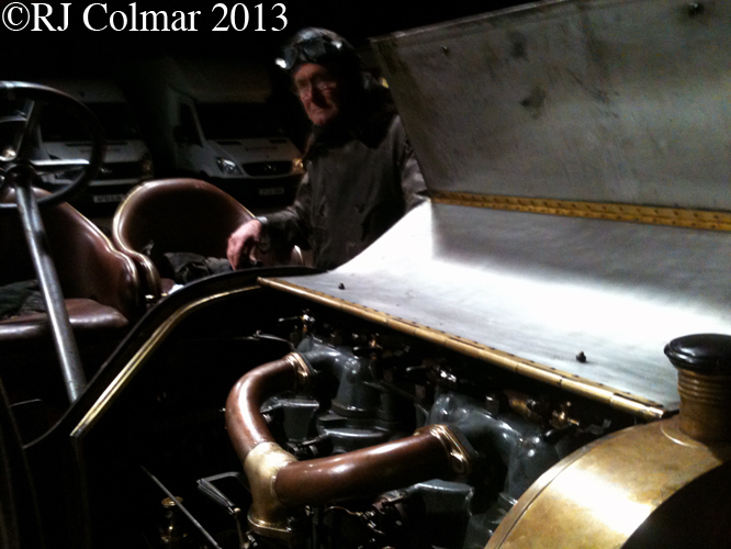 Mercedes Simplex, Exeter Trial, Musbury Garage