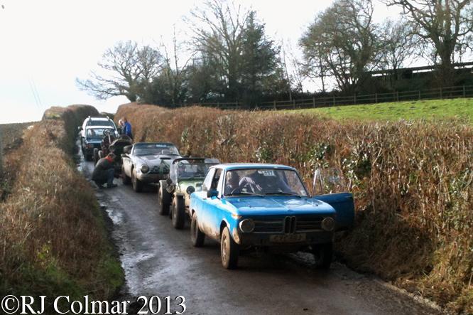 BMW 2002, Tillerton Steep, Exeter Trial