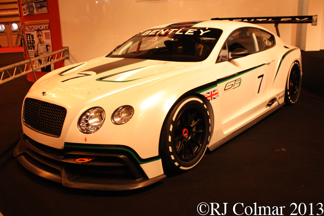 Bentley GT3 Concept, Autosport International, NEC, Birmingham