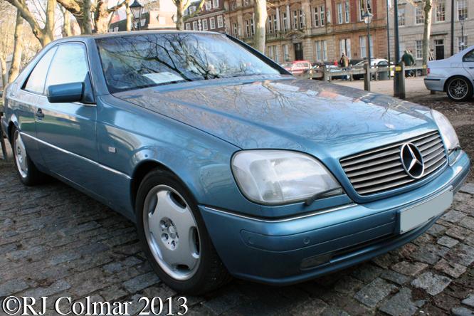 Mercedes Benz CL500 Auto, Avenue Drivers Club, Queen Square, Bristol